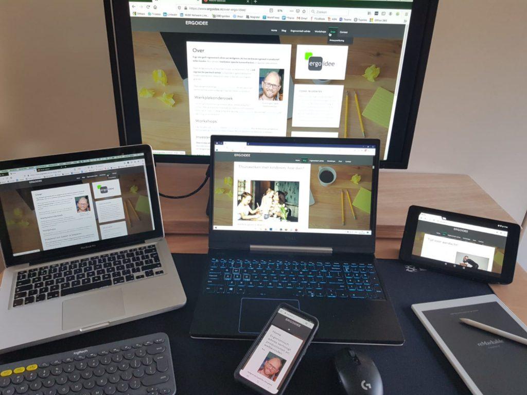 gezond werken met beeldschermen